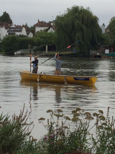 Unconventional rowing - Great River Race (London) preparation